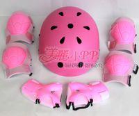 Wholesale OP bboy hip hop the helmet head spin cap roller skates protective gear complete skateboard helmet protective gear seven set