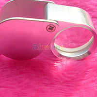 Wholesale Mini x21mm Triplet Jewelery Loupe For Jewelry Tool Equipments Jewelery Magnifier