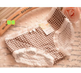 Wholesale 2014 MANUFACTURERS WOMEN THE BURST SELLING AND POPULAR COTTON LOW WAIST BREATHABLE BRIEFS PANTIES WITH PRINTING PATTERN