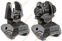 Drss FAB Defense FBS+RBS - Rear and Front Dual Aperture Back-Up Sights Set Black(DS1588A)