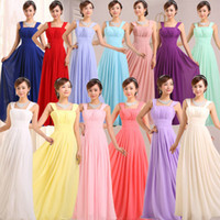Model Pictures Ruffle Sleeveless Cheap Junior Bride Dress 2015 Empire Ruched Chiffon Knee Length or Floor Length Bridesmaid Evening Graduation Dresses with Straps on Sale