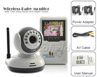 Electric monitors - Wireless Baby Monitor with Two Way Audio and Night Vision Inch TFT LCD AV OUT
