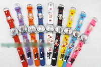 Wholesale 20pcs Children s Day Gift Frozen Elsa Anna Silica Gel Watch Kids Boys Girls Snow Queen Olaf Watches Childs Cartoon Wristwatches H1196