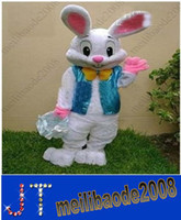 easter bunny - Professional Easter Bugs Bunny Mascot Costume Bugs Rabbit Hare Adult Cartoon Mascot Costume Angel Suit HSA0390