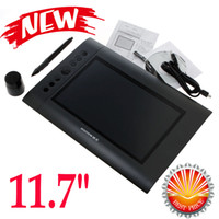 Wholesale 11 quot Art Graphics Drawing Board Tablet Pad Hot Keys with Cordless Digital Pen for PC Laptop Computer Accessories