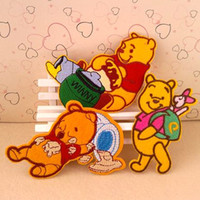 Patches iron on patches for kids - piece Bear Mixed Designs Kids Iron On Sew On Embroidery Patches for Clothes Retail