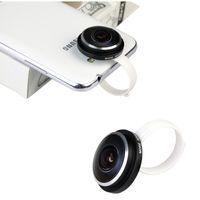 Universale New Standard Super Circle Fisheye Lens 235 Degree Clip per iPone Samsung per HTC LG PA1582