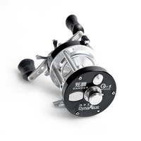 bait boat - 2015 New Full Metal BB Ball Bearings Right Hand Bait Casting Drum Wheel Boat Sea Fishing Reel Horizontal XW Black Blue H11465
