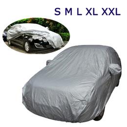 Универсальная автомобильная Обложки Стайлинг Крытый Открытый Зонт тепловой защиты Водонепроницаемый пыле Anti UV царапинам Sedan K1333