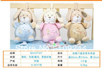 Cloth baby soft toys wholesale - OP nicot baby toys baby toys super soft bunny music rang lathe hang baby toys to appease