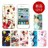 Wholesale Korea apple apple iphone4 iphone4s phone shell protective shell protective sleeve raindrops tide