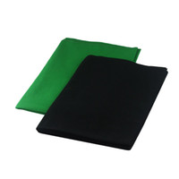 Wholesale 2014 Photography Black Green Muslin Background x3 m photo studio Backdrop