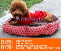 Wholesale Pet Dog Nest Puppy Cat dog Soft Bed Fleece Warm House Plush Mat