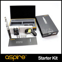 Wholesale Authentic Aspire K1 Starter Kit With ohms BVC Coil ml Aspire K1 Glassomizer Kit And mah Carbon Fiber Aspire CF G Power Kit