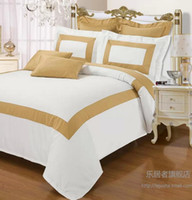 Wholesale JOLIEHOME bedding set for king queen size bed in a bag The golden age Satin fabric cotton