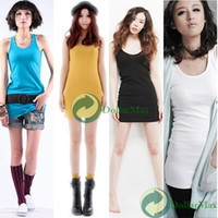 Women Solid Acetate [High Quality] Candy Color Sleeveless Sling Top Blouses Bottoming Shirt Vest DS1168 wholesale