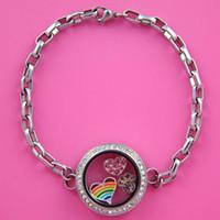 Cheap Lockets Locket bracelet Best Trendy Women's Silver locket bracelet