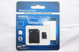 Wholesale DHL GB Class Micro SD TF Memory Card with Adapter Retail Package Flash SD Cards