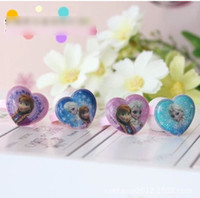 gift for children day - 60pcs Kids Birthday Gift Finger Ring Children s Day Heart Shape Rings Adjustable For Childs Princess Jewelry H1198