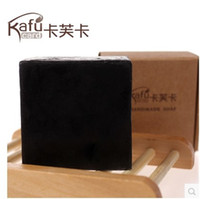 Wholesale lightening soap bamboo charcoal soap acne medicated pack herbal fair skin freeshipping
