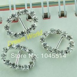 Wholesale wedding buckle rhinestone oval diy crystal buckle belt buckle rhinestone decoration