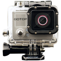 Digital Camcorders HDD / Flash Memory 2'' - 3'' GoTop G1 Sport Camera 1080P Full HD Action Camera 16MP Mini DV G-sensor Built-in GPS Motion Detection With Waterproof Case
