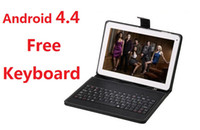 Wholesale HOT10 quot quot Allwinner A23 Android Tablet PC Dual Core Capacitive G GB DDR Dual Web Camera HDMI WIFI MID Tablet Bundle quot Keyboard