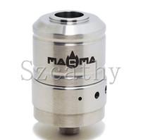 Replaceable 2.0ml Metal 2014 Magma clone mod atomizer ecig Airflow adjustable clearomizer prometheus paradigm atomizer cerberus vaporizer atty e cig