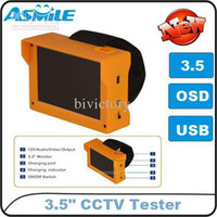 Wholesale Inch LCD Mini wristband CCTV video security tester monitor