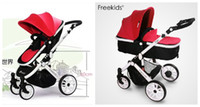 Wholesale Aluminum Baby Stroller Two way Pushing New Arrival Limited Edition Freekids Infants Pushchair Portable Stroller