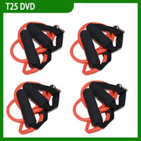 Cheap Shaun T Focus Fitness Tutorial T25 Workout Alpha Beta Core With Resistance Band 9 DISC DHL(1202001)