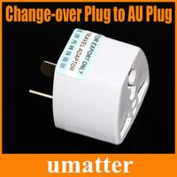 Wholesale New Arrival Change over Plug to AU Plug Travel Adapter AU Regulatory Adapter Plug White up
