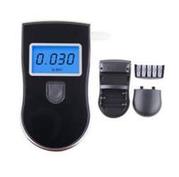 Wholesale Digital Breath Analyzer Alcohol Tester LCD Test Fast Drive Safety Advanced Prefessional Police Digital Breath Breathalyser