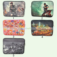 Wholesale Universal Inch Laptop Sleeve Case Color Painting Bag Pouch Cover For Tablet PC