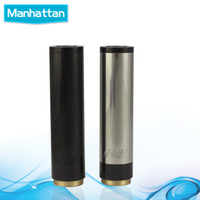 Wholesale 1 Clone Manhattan Mod Black SS Red Copper Manhattan Mod Full Machanical Mod for Electronic Cigarette Battery Tube E Cigarette Mod
