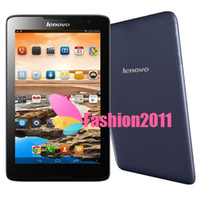 Wholesale Genuine MTK8382 Lenovo A3300 Quad Core Android Tablet PC G Phone Call Phablet GB GB Dual Camera GPS Bluetooth Tablets