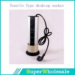 Wholesale Tensile Type EU Style Pop Up Power Kitchen Socket with LED Indicator CE GS Certification