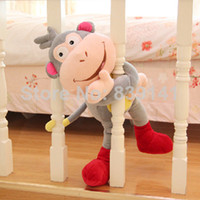 Wholesale OP inch Adventurous Dora Boots monkey plush toy doll Dora rascal gifts for children Plush Toy Doll
