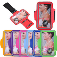 Wholesale For iPhone New WaterProof Sport Gym Running Armband Protector Belt Soft Case Cover for Case for Samsung Galaxy S3 i9300 S4 i9500