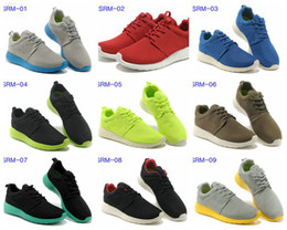 Wholesale Roshe Run Shoes Mens Running Shoes Fashion Vintage Athletic Casual Sports Shoes Boys Mesh Free Run Sneakers With Max Size