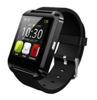 Bluetooth inteligente U8 del reloj del reloj para el iPhone 4 4S 5 5S Samsung S4 Nota 3 HTC teléfono androide libre del envío