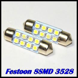 Wholesale 10pcs mm mm mm mm SMD Car Auto Interior LED SMD Light White Festoon Dome Lamp Bulb