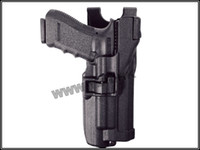 Yes yzh pistol holster Wholesale-OP-Blackhawk Level 3 Holster With Flashlight pistol holster for glock free shipping
