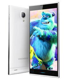 3g usb libre en Línea-DOOGEE DG550 DAGA MTK6592 Octa core android teléfono celular Smartphone de 5.5 Pulgadas IPS Pantalla HD de 1GB de RAM 16GB de ROM 13.0 MP GPS 3G DHL Gratis