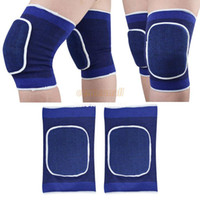 Wholesale High quality fashion football basketball volleyball blue durable knee protector kneepad guard kneepads SV001753