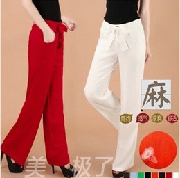 Discount Yellow Linen Pants Women | 2017 Yellow Linen Pants Women ...