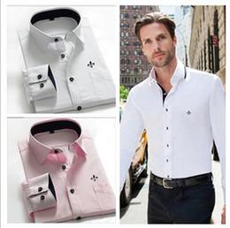 Wholesale 2014 blusas masculine brand men s dudalina cotton shirt men s casual long sleeved casual shirt slim fit Formal camisa shirt