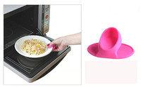 Food-safe materials microwaves - New Microwave Oven Mitts Kitchen Convenient Insulated Glove for Kitchen Home with Package CW0223