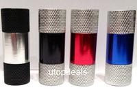 Wholesale 5 part Pollen Press High Grade Metal Assorted Colors Aluminum Mini Press US SELL