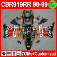 7gifts For HONDA Repsol orange CBR900 919RR 98- 99 CBR900RR C...